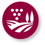 grape production icon – red