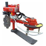 Figure 1. Clemens knife weeder with disc plough and rotary tiller