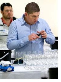 Peter Kelly during the 29th Advanced Wine Assessment Course